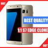 Buy Best Quality Goophone s7 edge clone 4G LTE Octa core 5.5inch IPS Curved Screen 1920*1080 1G RAM 16G ROM add 64GB 16MP goophone