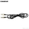 Buy Hot Selling Black Aux Cable Protector 3.5mm Male Stereo Audio Sony xperia z5 z1 Compact Samsung galaxy s6 s7 mobile phone