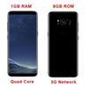 Buy Goophone s8 Edge Mobile Phones 1GB Ram 8GB Rom Quad Core Cellpohones Mtk6582 3G Network Metal Frame S8 Smart Phone DHL Free