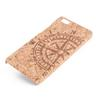 Buy U&I ® Handcraft Retro pattern Carved phone case Huawei p8 lite Hard PC Back wood cell