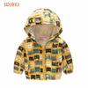 Spring Autumn Children Jackets Girls Coat Hooded Kids Jacket Flowers Children Outerwear&Coats Kiz Cocuk Mont