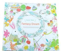 секретный сад Прелестное дитя книжка-раскраска картины рисунок книга 24 страниц Animal Kingdom Enchanted Forest Освободить стресс для детей взрослых