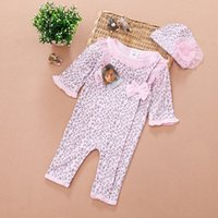baby girl infant toddler long sleeve flower print floral pri...