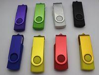 lápiz de memoria caliente del disco de U Promoción pendrive de 32 GB 64 GB 128 GB populares YG 3 USB Flash Drive de regalo del estilo de rotación con DHL Fedex