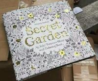 Секретный сад Чернильная охота за сокровищами и книжка-раскраска Взрослые дети Расслабьтесь Книга граффити