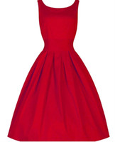 Cheap New 2015 Summer Black Red Ball gown Blue O- neck Sleeve...