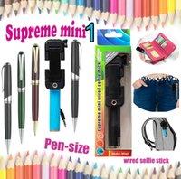 mini supreme 01 Wired selfie stick monopod Foldable mini1 pe...