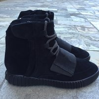 2016 Fashion Blackout Shoes Yeezy Boost 750 Athletic Boots A...