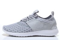 Light Gray Roshe Run Men' s Running Shoes 2016 New Hot F...