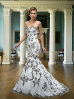 Style 2015 Exquisite Mermaid Wedding Dresses Sweetheart Embr...