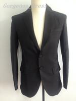 Top Charming Blazer Man Suit Wedding Dresses Notched Lapel T...