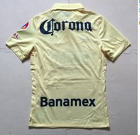 Thai Quality 14 - 15 Season Player Style Home Yellow America ...