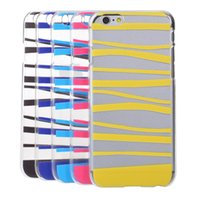 Various Stripes Prints Soft TPU back Case cover for iPhone 6...