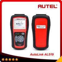 2015 Free Shipping Original Autel AutoLink AL519 OBD- II and ...