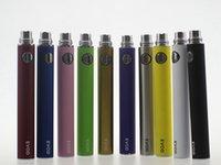 Les batteries de qualité supérieure Evod batterie 650mAh 900mAh 1100mAh Batterie pour MT3 CE4 CE5 MINI PROTANK atomiseur 510 fil