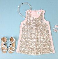 baby girl kids fashion sequin dress sequins sequined dress s...
