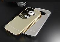 4 COLOR Mirror Luxury Metal Aluminum Bumper Frame PC Back Co...