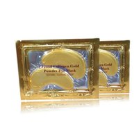 2016 new Hot Crystal Collagen Gold Powder Eye Mask Crystal E...