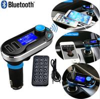 Wireless Bluetooth 4.0 Reproductor de MP3 Transmisor FM Cargador Dual USB Car Kit Car Kit Cargador SD Card / USB para dispositivos móviles