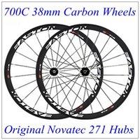 2016 East Full Carbon Bike Wheels With Black Original Novate...