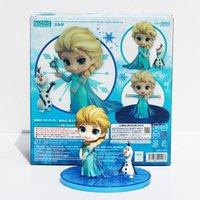 Frozen Princess Elsa Olaf Q Version # 475 PVC Doll Action Fi...
