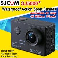 Original SJCAM SJ5000 plus Ambarella A7LS75 WIFI Action Came...