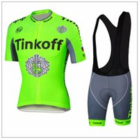 Size XS- 4XL Fluo Yellow Pro team Cycling Jersey Tinkoff Ropa...
