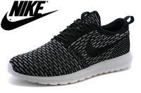 On Sale Mens WMNS Nike Roshe Run Flyknit RosheRunTrainers Jo...
