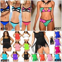 Newest Sexy Women' s Bikini Plus Size Fringe Swimwear Ba...