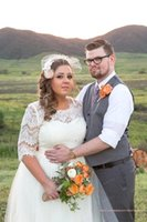 Cheap Plus Size A Line Lace Tulle Plus Size Wedding Dresses ...
