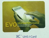 Tarjeta micro de la tarjeta T de la clase 10 de la tarjeta de EVO 16GB 32GB 64GB Micro con el envío libre del paquete al por menor DHL