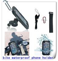 4,7 pulgadas a prueba de agua giratoria para bicicleta manillar Holder Monte Bolsa Funda para teléfonos móviles para Iphone 6