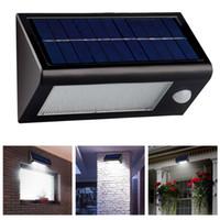 32 LED 400 люмен водонепроницаемый IP65 Solar Powered свет лампы Открытый датчик движения света Лестница Путь Пейзаж сада Пол Стена Патио лампы