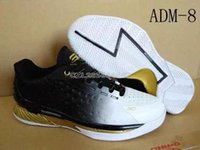 2015 Curry 1 low basketball shoes MVP white black Gold High ...