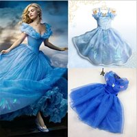 2015 Hot Sale Beautiful Cinderella Dress Summer Lace Dress P...