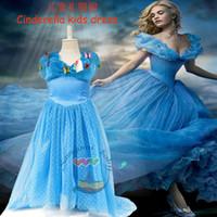 2 Style DHL 2015 Newest Cinderella Dress girls dresses Cospl...