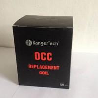 Kangertech OCC bobinas de repuesto Kang OCC Vertical bobina SUB ohmios 0.5ohm / 1.2ohm Para KangerTech depósito secundario Sub ohmios vaporizador de algodón orgánico de la bobina