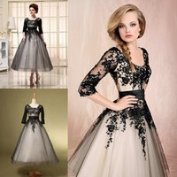 Long Sleeve Evening Cocktail Dresses Cheap 2015 In Stock Spr...