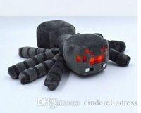 2015 New 16CM Minecraft Plush Toys Gray Spider Plush Stuffed...
