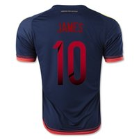 Thai Quality Customized Colombia 2015 #10 JAMES Away Soccer ...