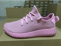 2016 New Color All pink Yeezy Boost 350 High Quility woman s...