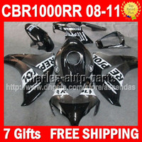 7gifts+ Seat cowl+ Fairing For HONDA CBR1000RR 08- 11 CBR 1000 ...