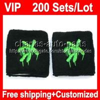 VIP Price 100% NEW Top Quality VIP479 Black green wristbands...