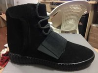 2016 Hot!! Blackout Shoes Yeezy 750 Boost Athletic Boots Ank...
