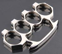 2pcs silver death squads Steel Brass knuckle dusters Wushu S...