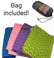 Sport Fitness Travel Exercise Yoga Mat Cover Towel Blanket N...