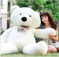 2016 hot White TOYS 6 FEET BIG TEDDY BEAR STUFFED 5 Colors G...