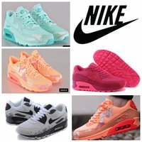 2016 Nike Air MAX 90 Women breathable running shoes fashion ...