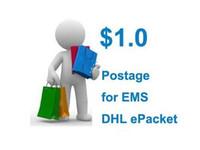 Почтовая оплата для DHL EMS столба Кита epacket или иначе SHIPING способы poatage, флагманский магазин тариф за доставку восполнить разницу, посвященный