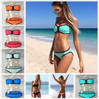 2015 hot sell Women swimsuit bikini Triangl Swimwear Bikini ...